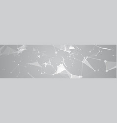 Abstract polygonal geometrical background vector