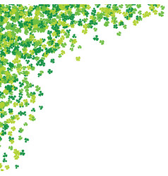 clover leaf hand drawn sketch doodle st patricks vector image