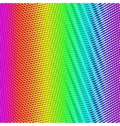 Colorful background with rainbow dots vector