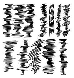 decorative modische gekritzelmarkierung vector image