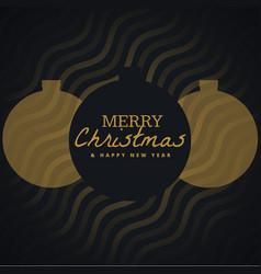 elegant seasonal merry christmas background with vector image