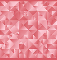geometrical gradient color abstract triangle vector image