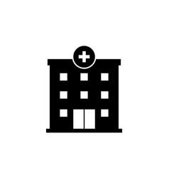 Hospital building icon symbol simple design vector