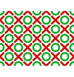 tic tac toe seamless wallpaper vector image