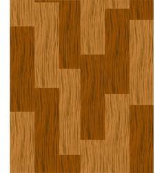 wooden parquet floor vector image