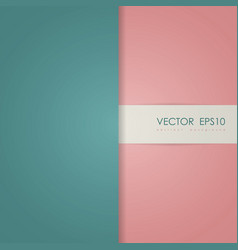 abstract simple cover page vector image vector image