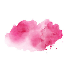 abstract bright pink stain splashing vector image