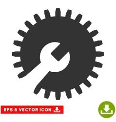 Gear Tools Eps Icon vector