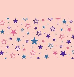 Stars seamless pattern texture vector