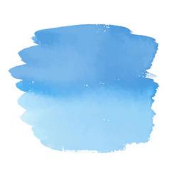 blue color watercolor hand drawn gradient banner vector image vector image