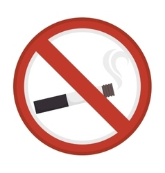 dont smoke sign icon vector image