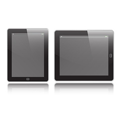 Tablet set vector image