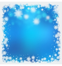 Christmas and New Year blurry background vector image vector image