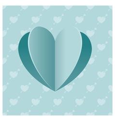 Heart Shape Background vector image