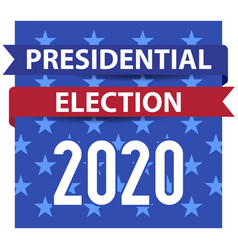 2020 united states presidential election square vector
