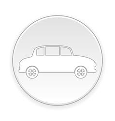 Car button vector image