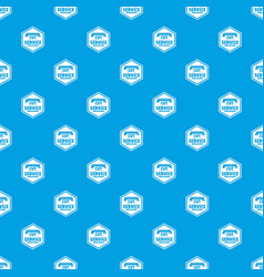 Cut service pattern seamless blue vector