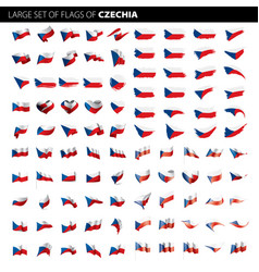 czechia flag vector image