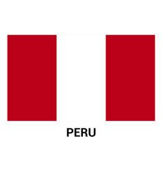 peru flags design vector image