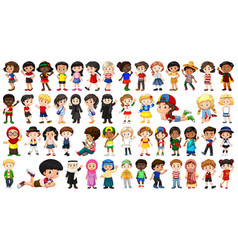 Set multicultural character vector