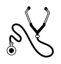 Stethoscope or phonendoscope icon image vector