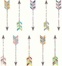 Tribal arrow collection vector