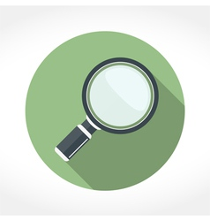 Magnifying Glass Icon vector image