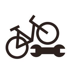 Bike repair icon vector
