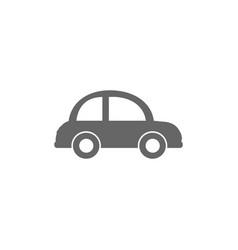 car icon flat design vector image