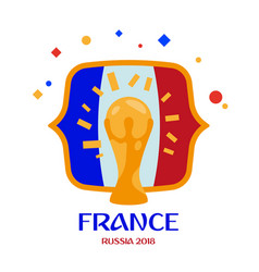 france is champion vector image