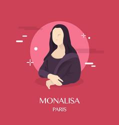 Monalisa vector