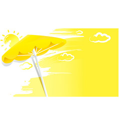 summer sunny background vector image
