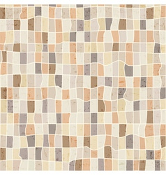 Grunge abstract mosaic background vector image
