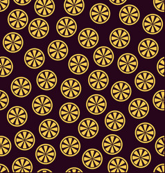 orange pattern seamless vector image