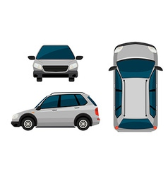 A vehicle vector image vector image