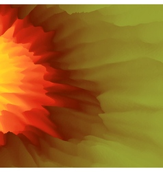 Burst Fire and Explosion Abstract background vector image