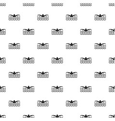 Butterfly swimmer pattern vector
