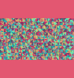 Colorful abstract geometrical gradient triangle vector