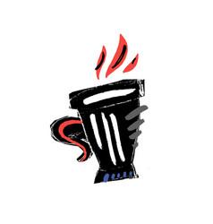 cupt vector image