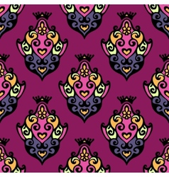 Damask Royal Seamless vector image