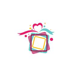 gift box icon vector image