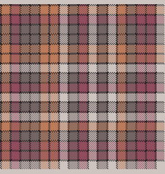 mosaic tartan check plaid seamless pattern vector image