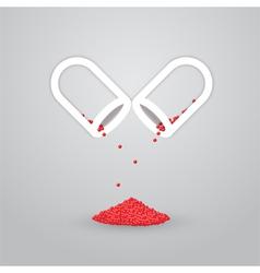 Pill Capsule vector