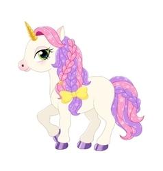 Pink pony vector
