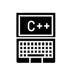 Programmer notebook icon vector