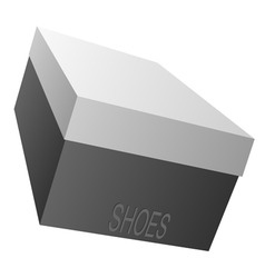 Shoe box vector