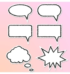 Speech Balloon vector