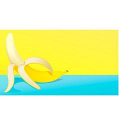 summer banana vector image