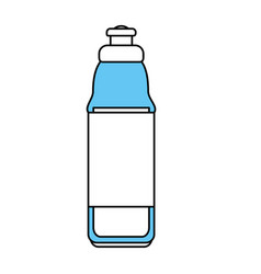 water bottle design vector image