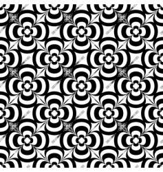 mono flower vector image vector image